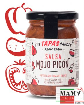 Тапас соус Мохо Пихон без глютена, веган The Tapas Sauces 180 гр.