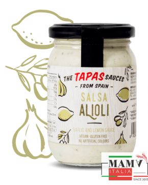 Тапас соус Алиоли без глютена ,веган The Tapas Sauces 180 гр.